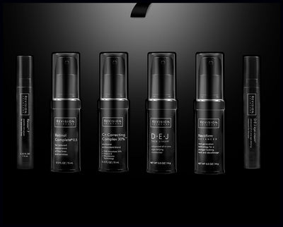 The Revision Ritual Limited Edition Trial Regimen Kit. Interior