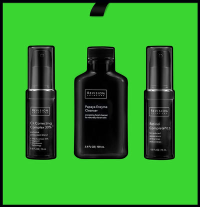 The Revision Starter Limited Edition Trial Regimen Collection. Interior