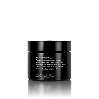 Black Mask- purifying facial mask for a smooth, polished complexion. Jar Back