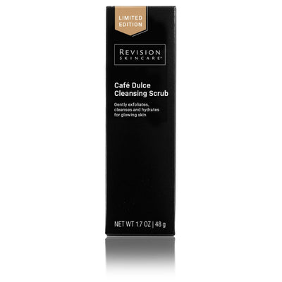 Limited Edition! Café Dulce Cleansing Scrub <h4> gently exfoliates, cleanses and hydrates for glowing skin </h4>