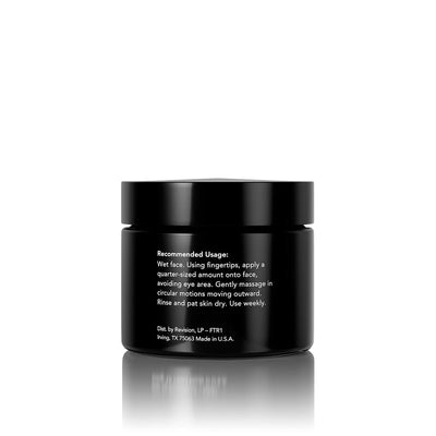 Finishing Touch- microdermabrasion scrub for polished skin. Jar Back