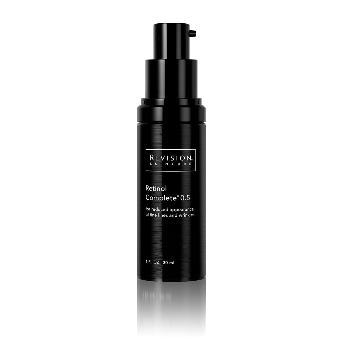 Retinol Complete 0.5- for reduced appearance of fine lines and wrinkles. Pump Front