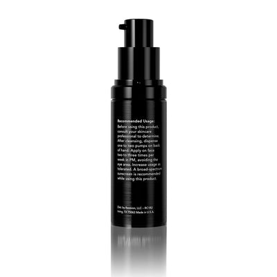 Retinol Complete 1.0- for reduced appearance of fine lines and wrinkles. Pump Back