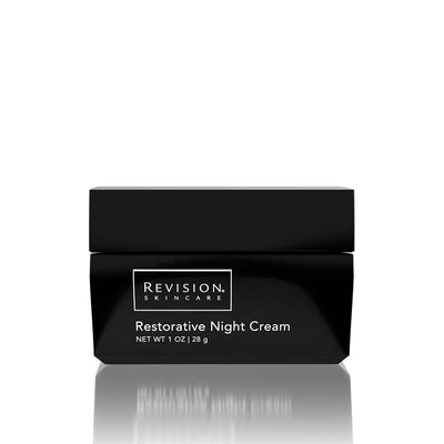 Restorative Night Cream- hydrating night cream for all skin types. Jar Front