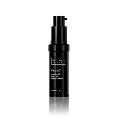 Revox 7- peptide-rich serum for expression lines. Pump Front