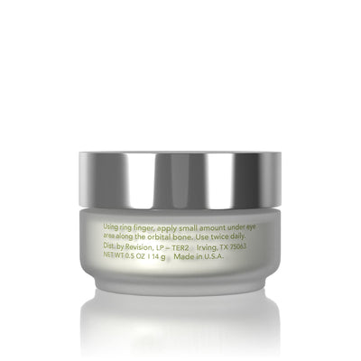 Teamine Eye Complex- for minimizing the appearance of dark circles. Jar Back