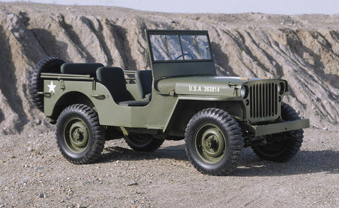 Originally built for the military, the first-ever Jeep went on to launch an unforgettable and remarkable vehicle for the ages.