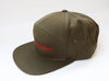 Wagonmaster Hat - Olive Side