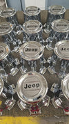 New Old Stock (NOS) Jeep Grand Wagoneer Wheel Center Caps-Set of 4