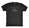 Super-Soft/Short Sleeve/Crew Neck Wagonmaster Tee from Next Level - Vintage Black