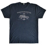 Super-Soft/Short Sleeve/Crew Neck Wagonmaster Tee from Next Level - Vintage Navy