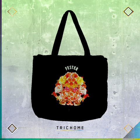 Flowers Crime Tote Bag