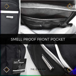 "Laptop Backpack with Smell-Proof Front Pocket [18"" x 12""]"