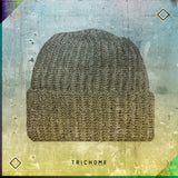 Pacific Northwest Heavy Knit Marled Beanie / Coffee & Cream