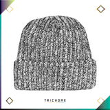 Pacific Northwest Heavy Knit Marled Beanie / Cookies & Cream