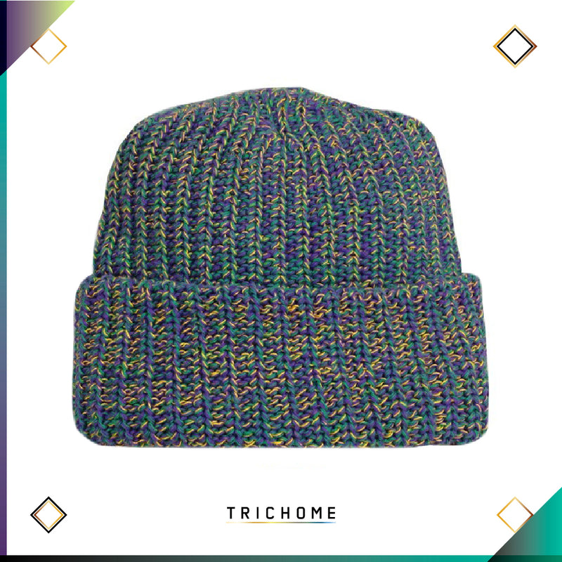 Pacific Northwest Heavy Knit Marled Beanie / Moclips Vacation