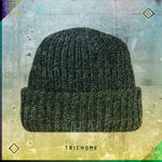 Pacific Northwest Heavy Knit Marled Beanie / Snow-Covered Green
