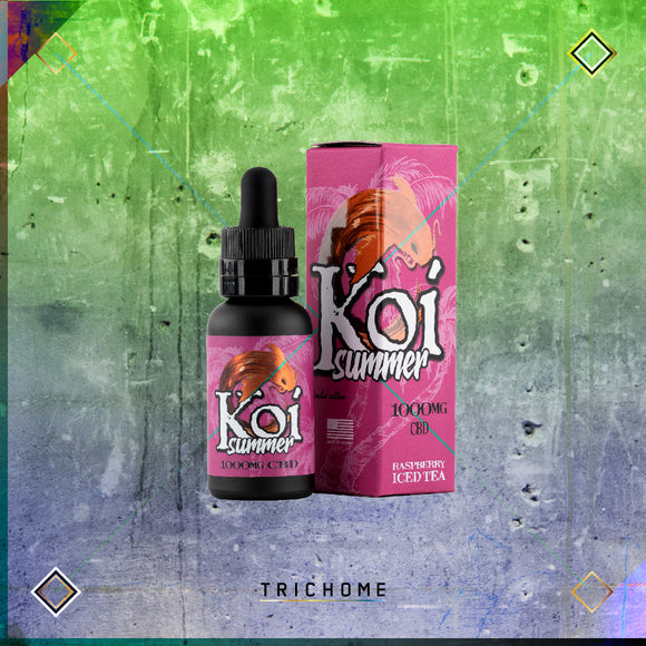 Koi Summer Raspberry Iced Tea CBD E-Juice