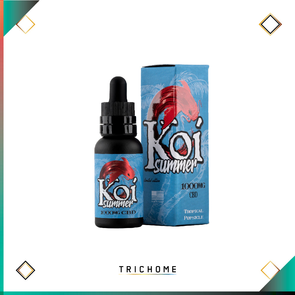 Koi Summer Tropical Popsicle Vape Juice