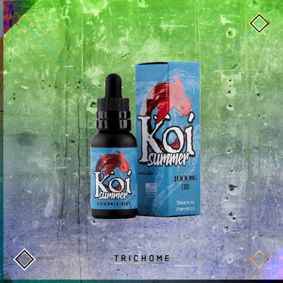 Koi Summer Tropical Popsicle CBD E-Juice