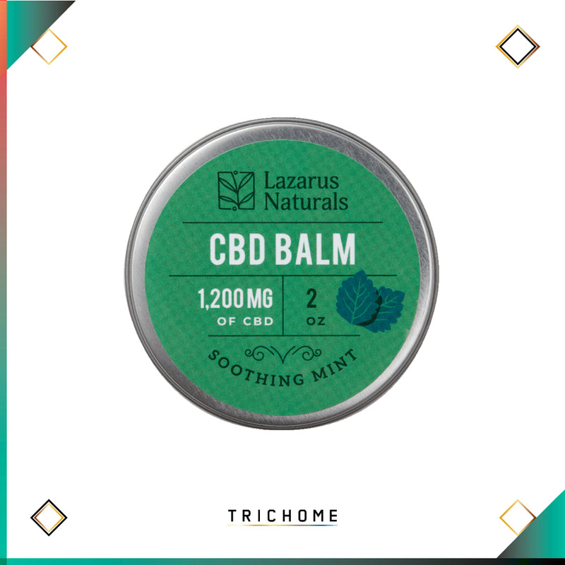 Lazarus Full Spectrum Soothing Mint CBD Balm 1,200mg