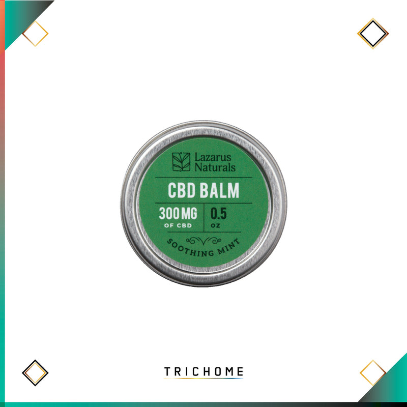 Lazarus Full Spectrum Soothing Mint CBD Balm 300mg