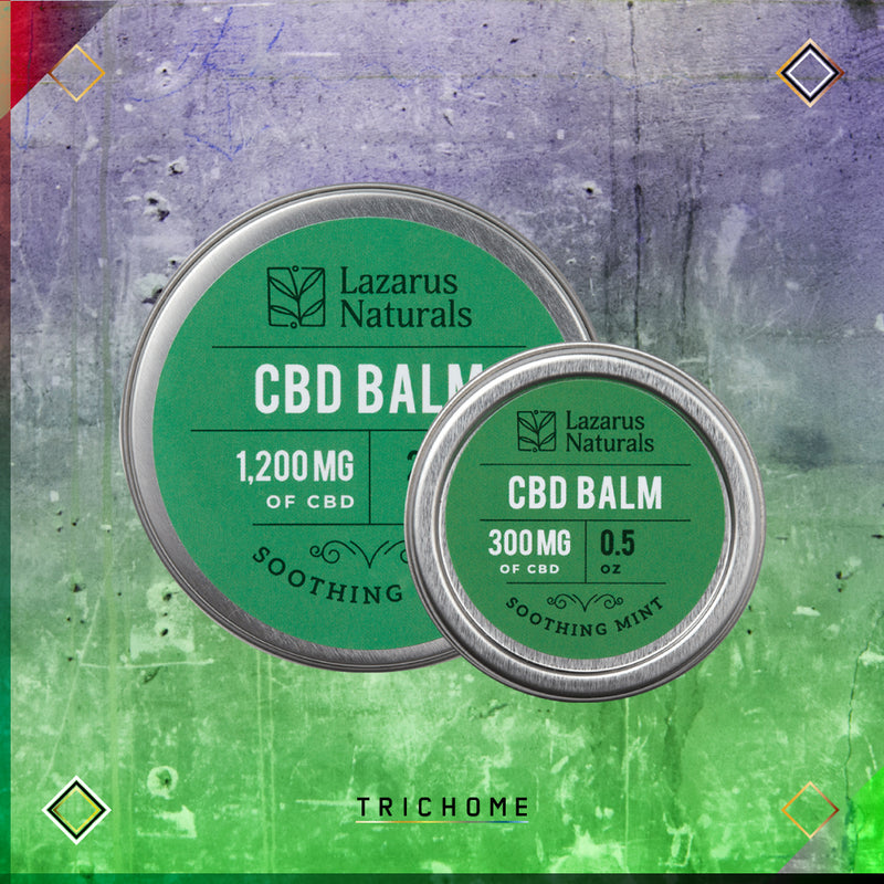 Lazarus Full Spectrum Soothing Mint CBD Balm
