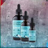Lazarus Full Spectrum CBD Tincture Standard Potency Natural Flavor