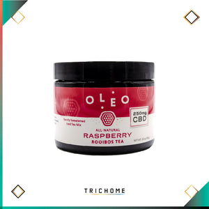 Oleo CBD Raspberry Rooibos Tea Mix