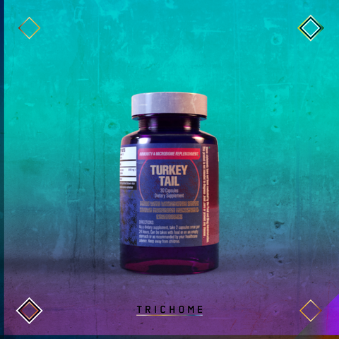 Omniscience Mushrooms Turkey Tail Capsules