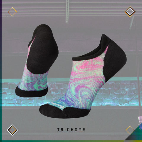 Women's PhD® Run Light Elite Marble Micro Socks