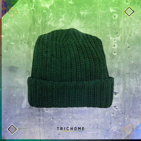 Pacific Northwest Heavy-Knit Watch Cap / Evergreen