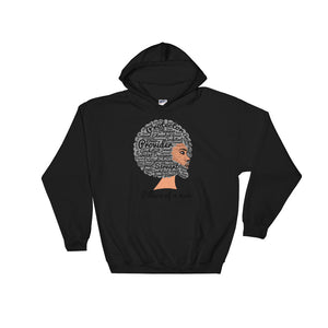 "Men's Hooded ""Pillars of a Man"" Sweatshirt"