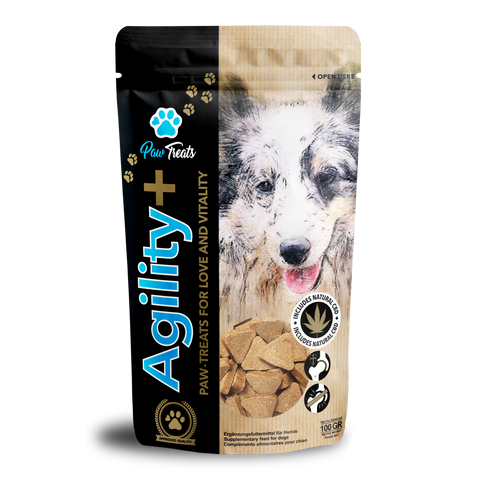 Paw Treats Agility+ CBD Dog Treats - House of Life