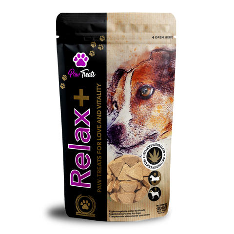 Paw Treats Relax+ CBD Dog Treats - House of Life