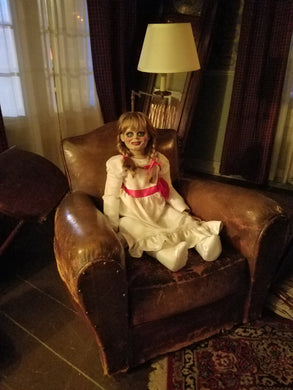 1 of a kind Annabelle Doll used during Warner Brothers Studios