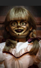 ANNABELLE COMES HOME Autographed Animatronic Movie Prop Doll