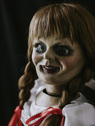 The Conjuring Animatronic Annabelle Doll Movie Prop with Remote Control