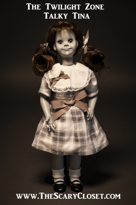 THE TWILIGHT ZONE TALKY TINA DOLL
