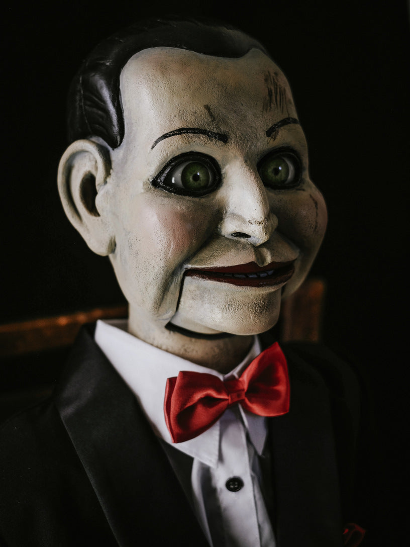 Dead Silence Billy Movie Prop Dummy Doll Static Edition The Scary Closet