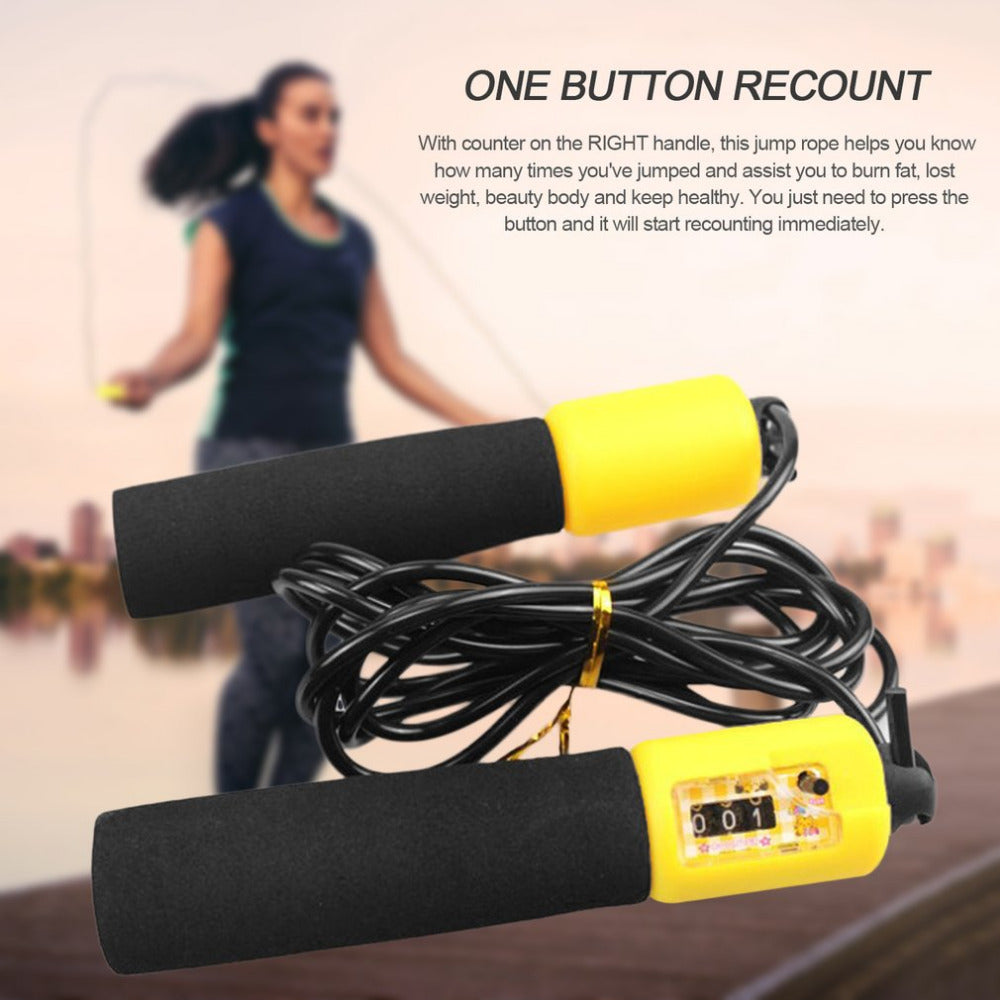 Adjustable Jump Rope With Accurate Counter