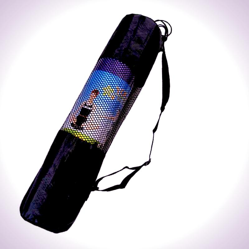 Mesh Yoga Mat Carrier Bag