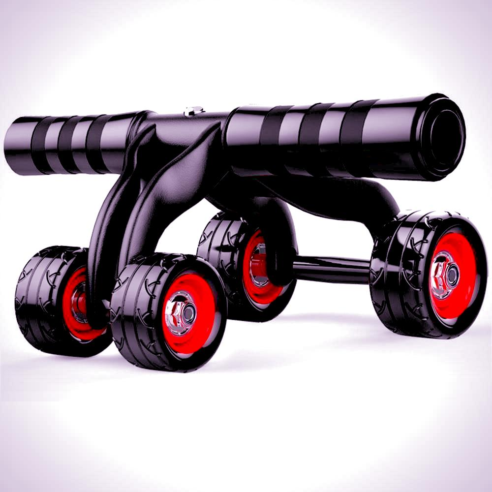 Abdominal Wheel Roller - Four Wheels