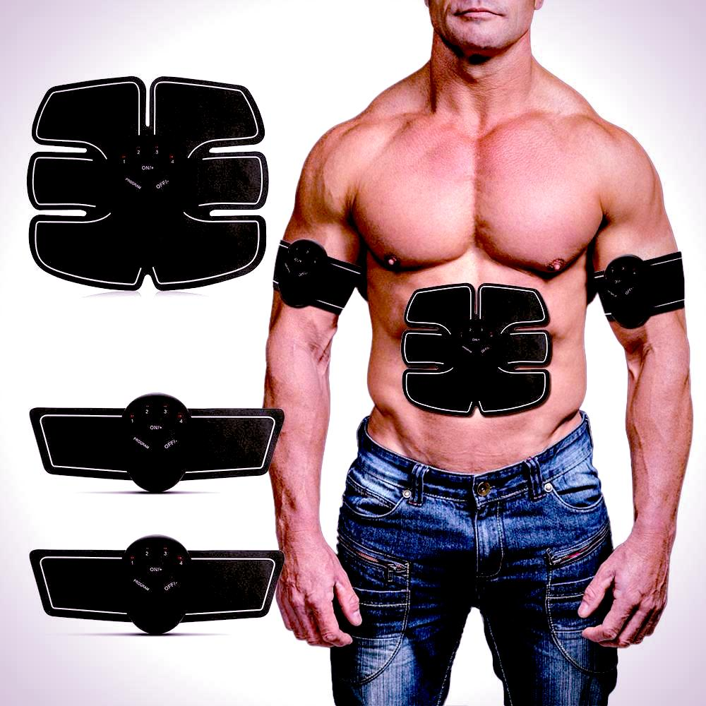 Abdominal Muscle Trainer - Electronic Muscle Stimulator