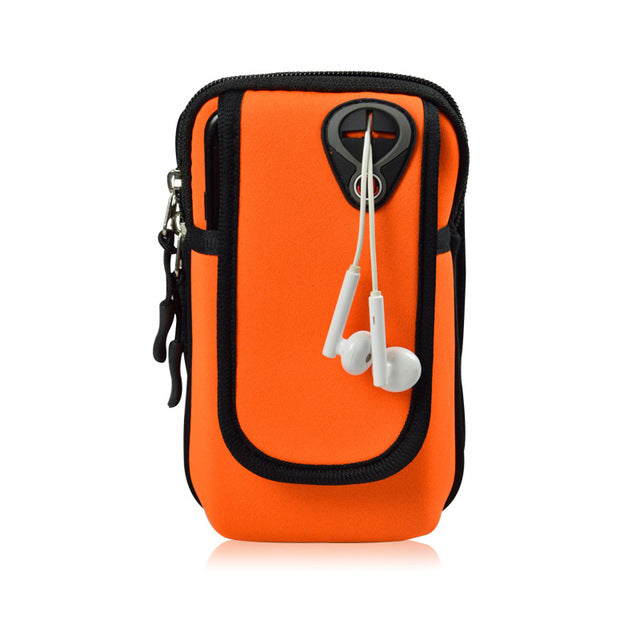 Mobile Phone Carrying Case with Arm Band