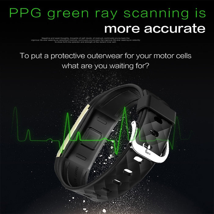 Ultra Smart Fitness Watch - Waterproof - Android and iPhone