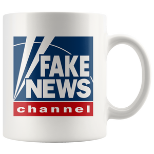 Fake News Channel Mug - Fox News