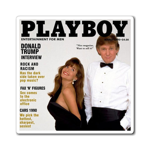 Trump Playboy Cover Magnet