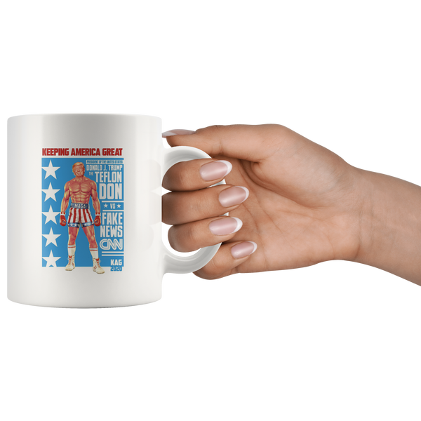 Trump Action Figure Mug