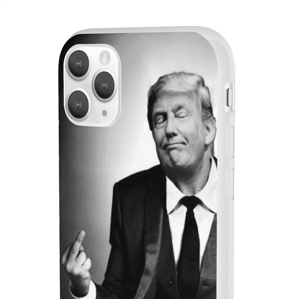 Trump Middle Finger Phone Case